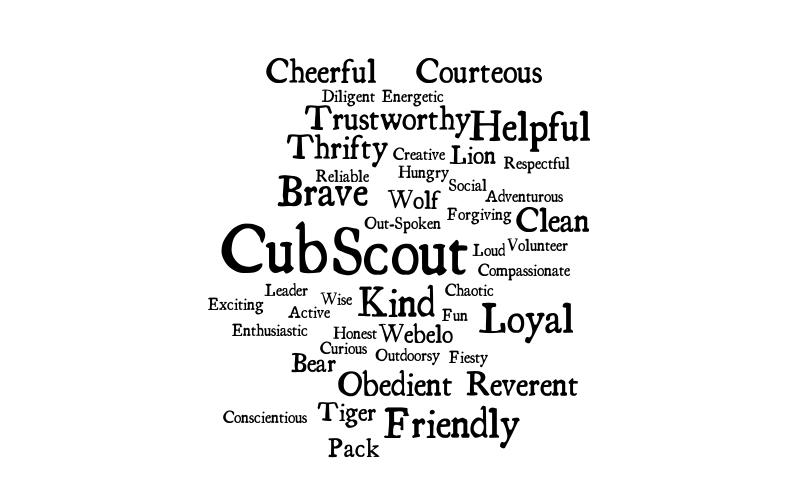 cub scout law  lion