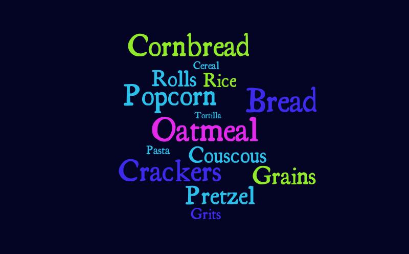 Grains – Word cloud – WordItOut